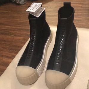 Zara Platform High Top Sneaker